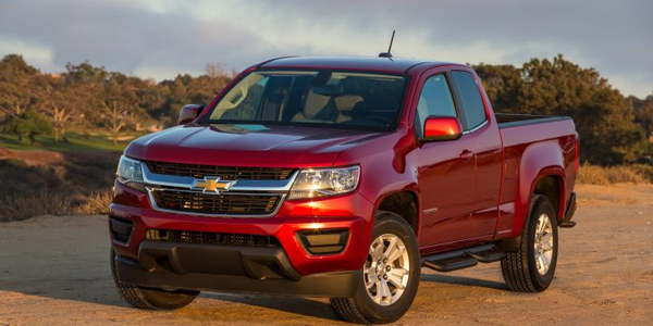 Midsize pickups such as the Chevrolet Colorado (shown) are providing low TCO for fleet managers...