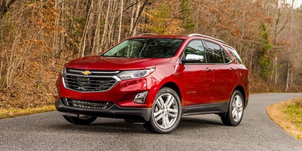 GM is recalling the 2020 Chevrolet Equinox for a brake defect.