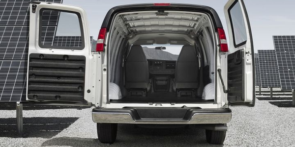 GM has recalled its 2016 to 2019 vans, including the Chevrolet Express (shown), for a possible...