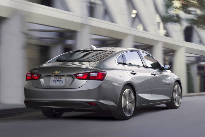 GM is discontinuing its Chevrolet Malibu Hybrid after the 2019 model year.  - Photo courtesy of GM.