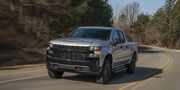 The 2020 Chevrolet Silverado 1500 adds expanded availability for its 6.2L V-8 engine. Trail Boss...