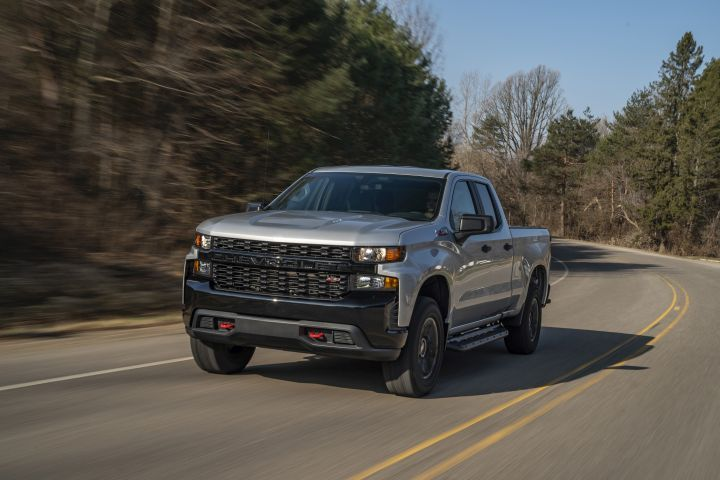 GM has recalled more than 800,000 vehicles, including the 2020 Chevrolet Silverado (Trail Boss model shown), for two defects. - Photo courtesy of GM.