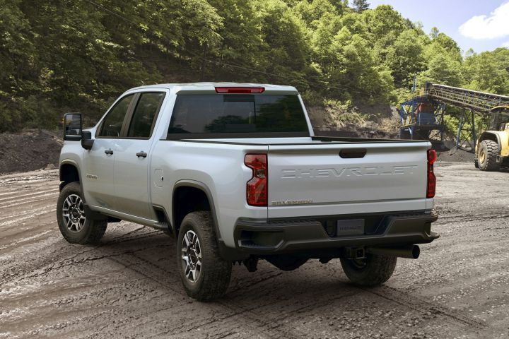 Chevrolet's 2020 Silverado 2500HD (shown in Work Truck trim)and 3500HD can two up to 52% more than the outgoing pickup, when properly equipped due to a host of upgrades.  - Photo courtesy of GM.