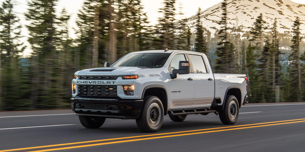 GM is offering a detailed ordering guide for fleets for its 2020 Chevrolet Silverado HD...
