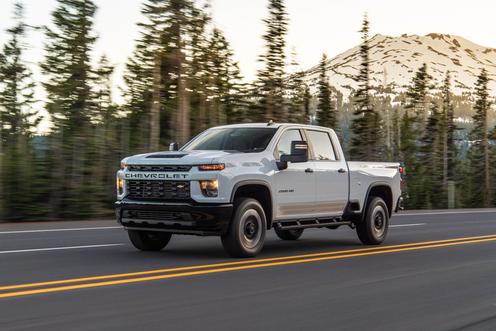 GM is offering a detailed ordering guide for fleets for its 2020 Chevrolet Silverado HD (2500/3500) pickups.