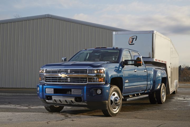 GM is recalling is Chevrolet Silverado 3500 (shown) and GMC Sierra 3500 for a fuel tank defect.