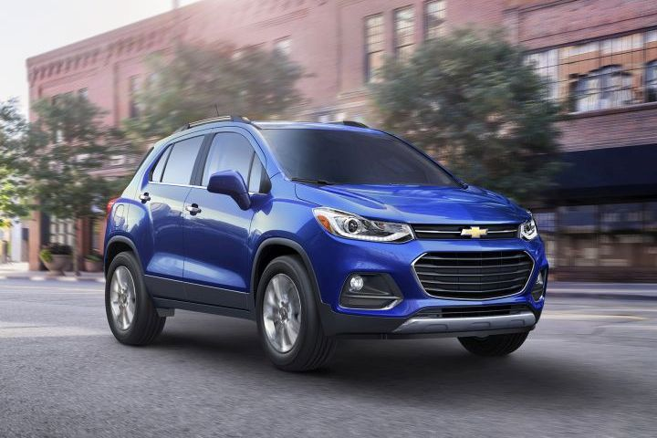 GM is recalling its Chevrolet Trax for a possible defect involving the lower control arms of the vehicle's suspension.  - Photo courtesy of GM.
