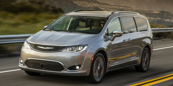 FCA is recalling its 2018 Chrysler Pacifica minivans for a possible defect involving the control...