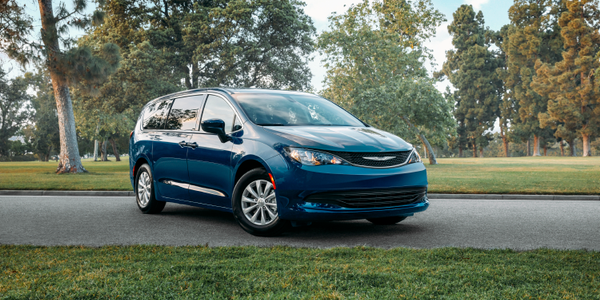 FCA's 2020 Chrysler Voyager earned a five-star safety rating from NHTSA.