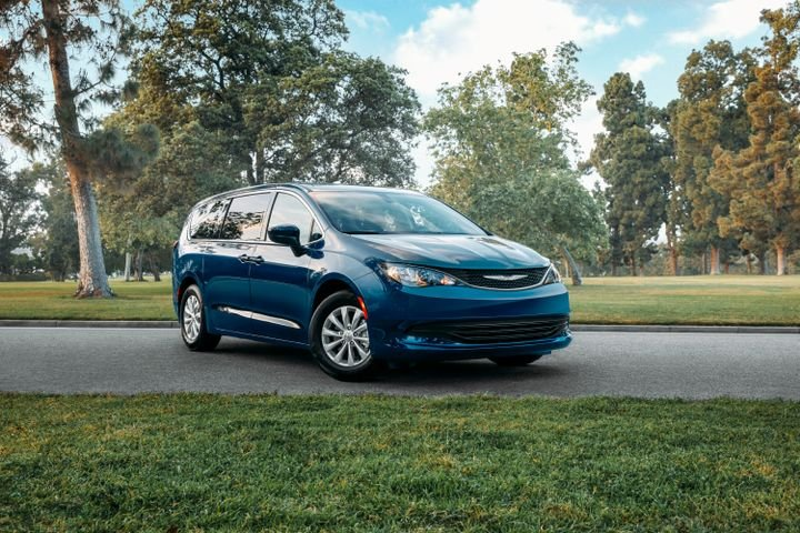 FCA's 2020 Chrysler Voyager earned a five-star safety rating from NHTSA. - Photo courtesy of FCA.