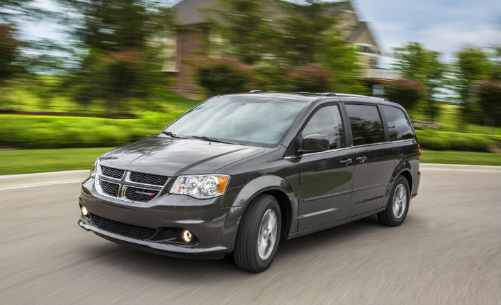FCA has recalled four nameplates, including the Dodge Grand Caravan (shown) for a rear brake defect.  - Photo courtesy of FCA.