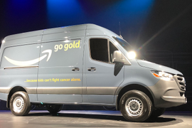 Mercedes-Benz Starts Building Sprinter Vans for Amazon at New Plant
