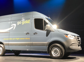 Mercedes-Benz introduced the first U.S.-madeSprinterin South Carolina and delivered the vehicle to Amazon.