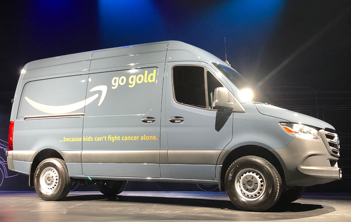 Mercedes-Benz introduced the first U.S.-made Sprinter in South Carolina and delivered the vehicle to Amazon.