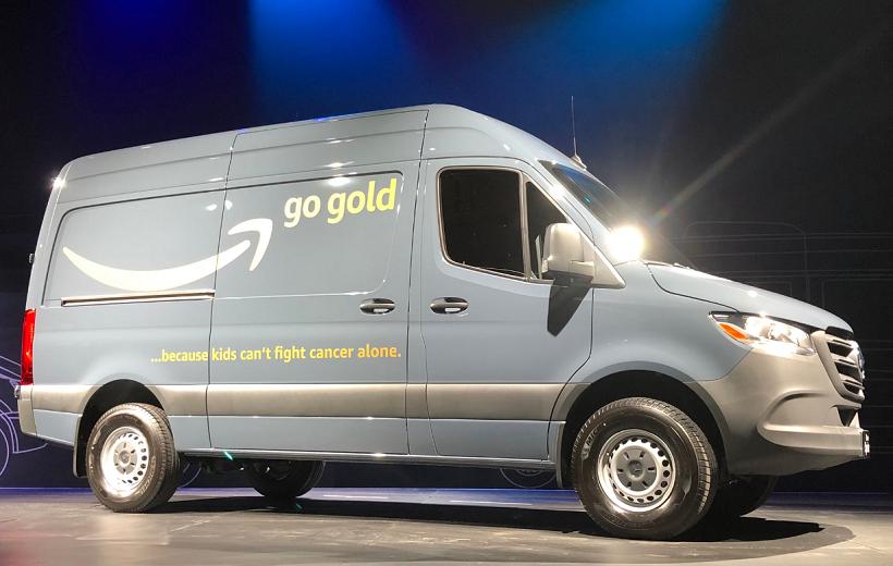 Mercedes-Benz Starts Building Sprinter Vans for Amazon at New Plant