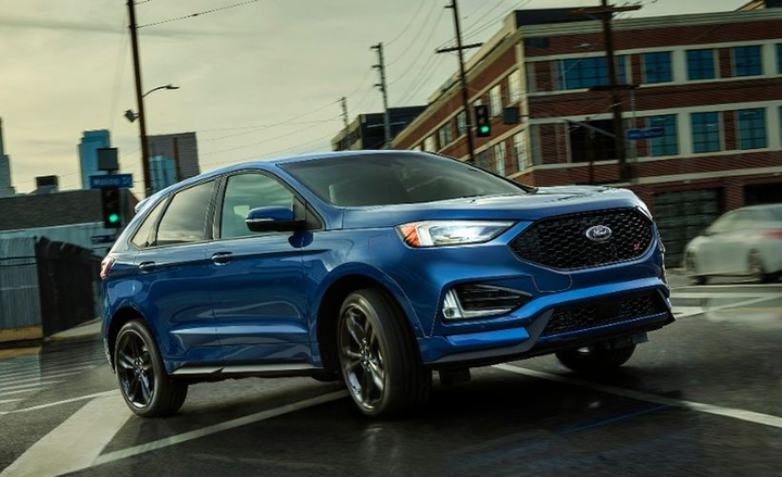 Ford is adding an intelligent all-wheel drive system to its 2019 Edge midsize SUV.  - Photo courtesy of Ford.