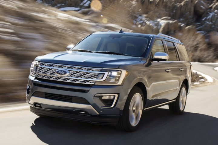 Ford is recalling its 2018 Expedition (shown) and Lincoln Navigator for a seat defect.