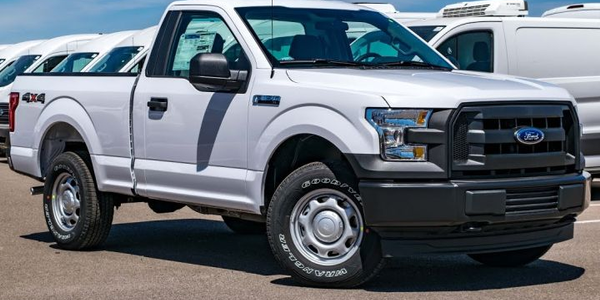 Ford is recalling two F-150 cab configurations from four model years, including the regular cab...