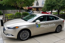 Alliance Autogas Prepping Propane Autogas Ford Fusion