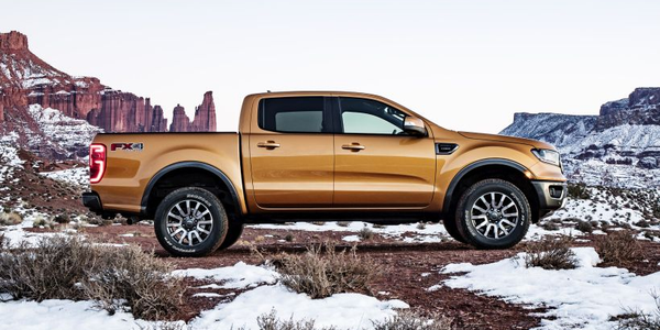 Ford will offer an array of fleet-only options with its 2019 Ranger midsize pickup.