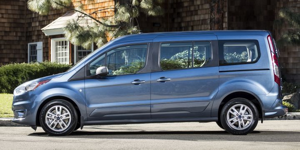 Ford's 2019 Transit Connect wagon improves combined fuel economy by 13% over the outgoing model.
