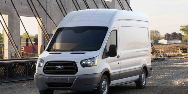 Ford's Transit cargo van was one of 37 vehicles named by Vincentric to have the best...