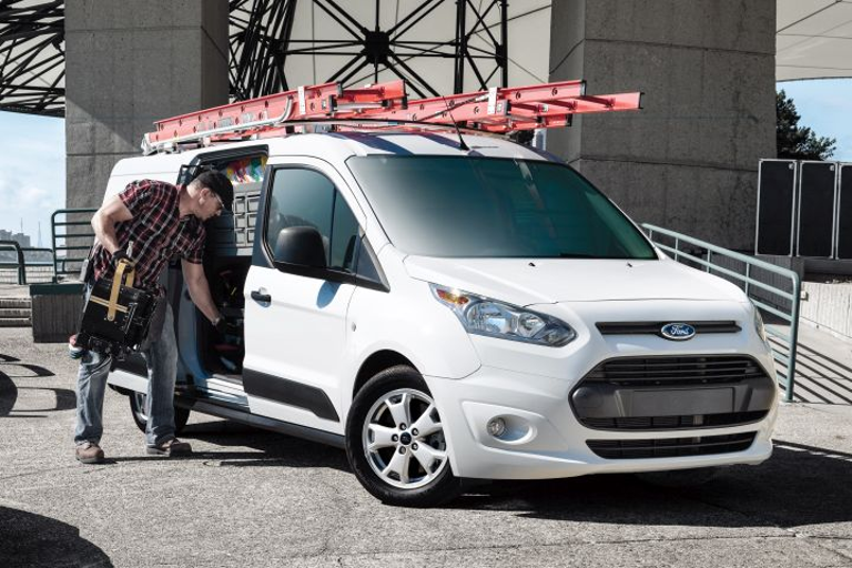 Ford is offering several fleet-only options for its third-generation 2019 Transit Connect,...