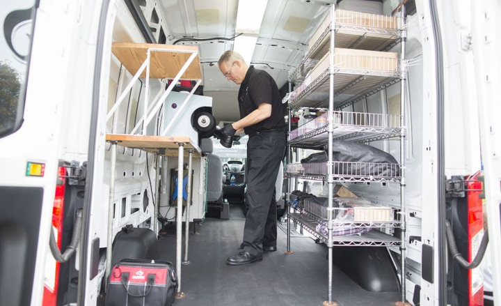 Ford has seen a proliferation of mobile businesses such as The Shoe Shine Guys using its Transit full-size van.