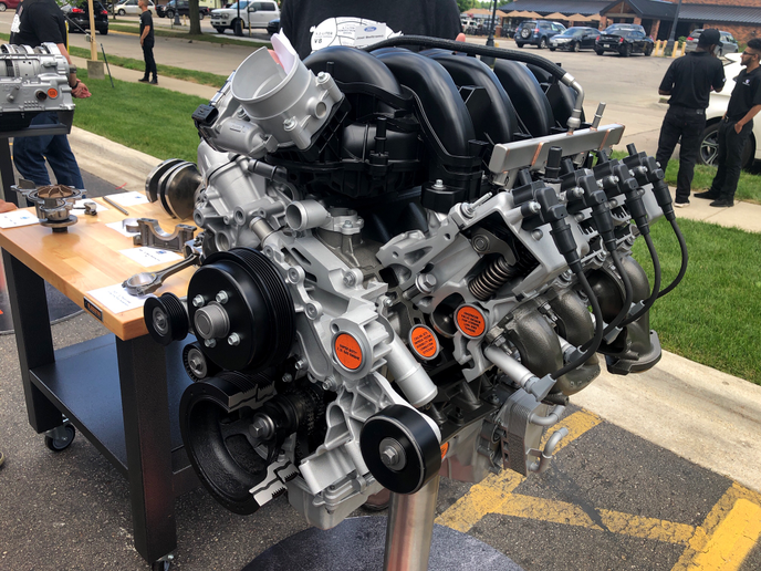 Ford is introducing a 7.3L gasoline engine across most of its F-Series lineup.
