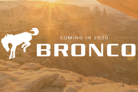 Ford Planning Bronco Pickup