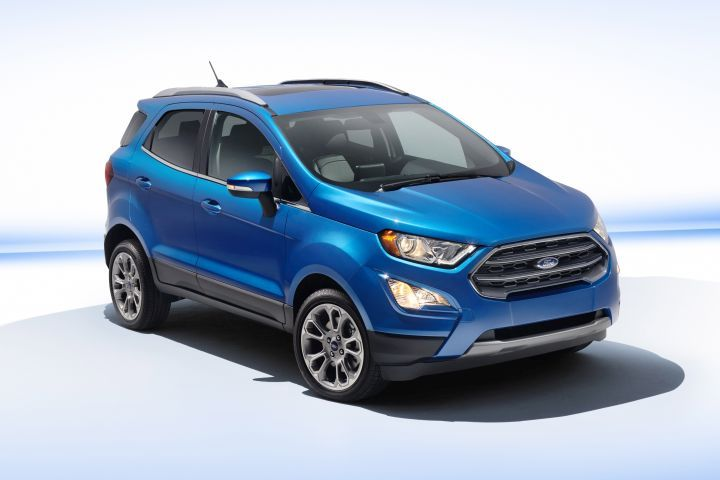Ford is recalling the 2019 EcoSport for a possible defect with the seat back.