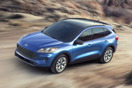 Ford's 2020 Escape Adds Hybrid Models
