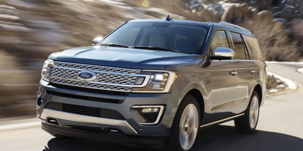 Part of Ford's realignment of its production plan will include increasing output of SUVs such as...
