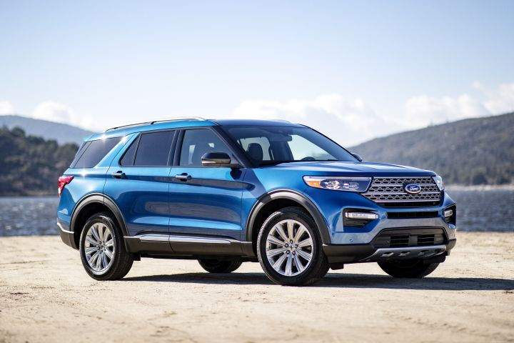 Ford will offer thegasoline-electrid 2020 Explorer Hybrid, the automaker announced.  - Photo courtesy of Ford.