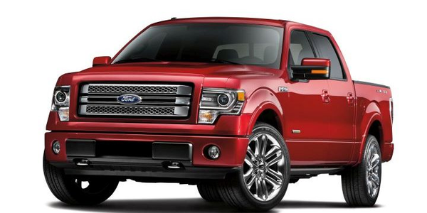 Ford is recalling several models, including its 2013 F-150 (shown) for a possible transmission...
