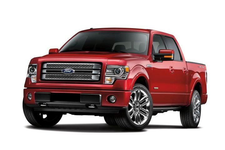 Ford is recalling several models, including its 2013 F-150 (shown) for a possible transmission defect.