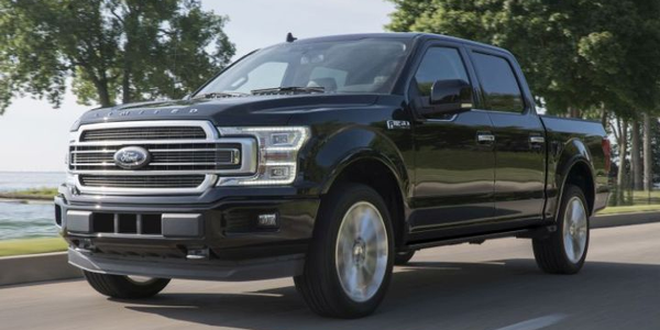 Ford is recalling its F-150 (2019 Limited model shown), Super Duty pickups, and Lincoln MKX...