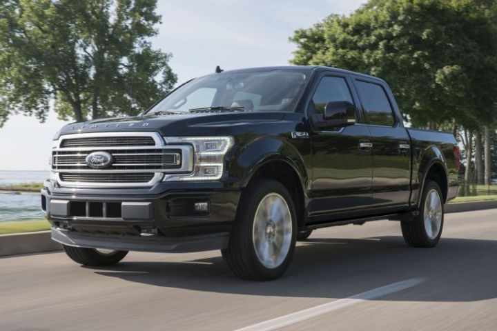 Ford's F-150 pickup added a Limited trim for the 2019 model year.