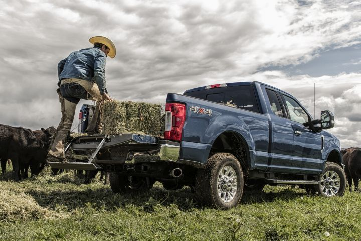 Ford has added a few updates to its 2019 Super Duty pickups, which include the F-350 XLT (shown).  - Photo courtesy of Ford.