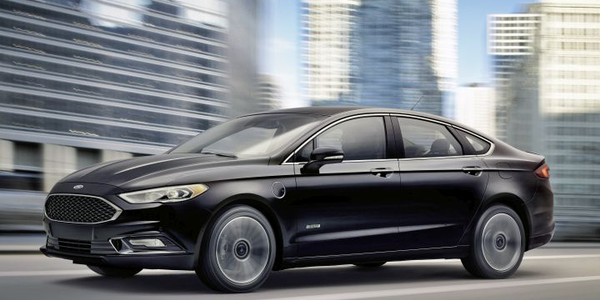 Ford is recalling its 2019 Fusion Energi plug-in hybrid because it may not adequately protect...