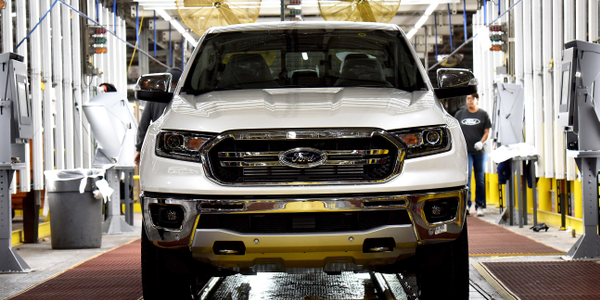 Ford is recalling its 2019 Ranger SuperCab for a possible seat belt defect.