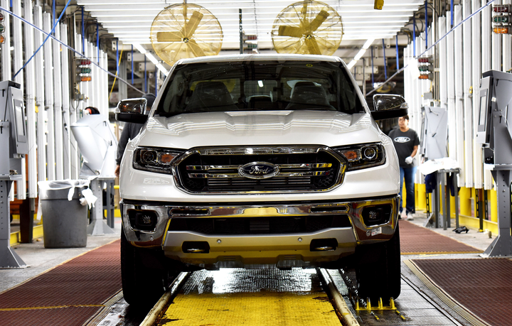 Ford is recalling its 2019 Ranger SuperCab for a possible seat belt defect.  - Photo courtesy of Ford.