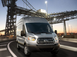 Ford is enhancing its 2019 Transit, including the T250 high-roof, long-wheelbase cargo van(shown).
