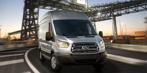 Ford's 2019 Transit Adds Cargo Management Features