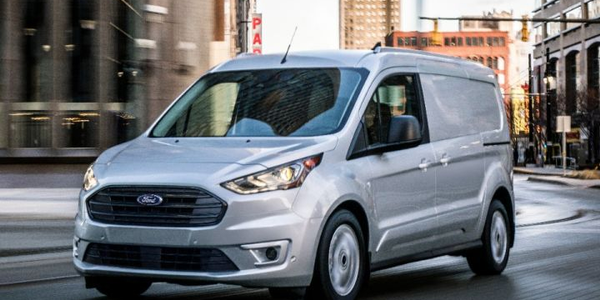 Ford's third quarter sales of the Transit, Transit Connect (shown), and E-Series were its best...