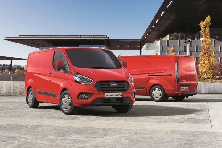Ford has been selling its Transit Custom cargo van (shown) in Europe since 2012.