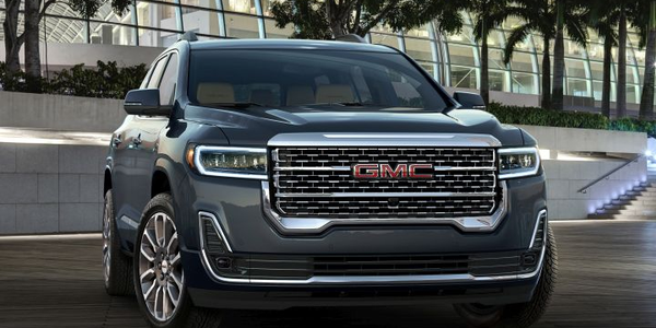 The 2020 GMC Acadia adds a new turbo-four engine and nine-speed transmission in a midcycle...