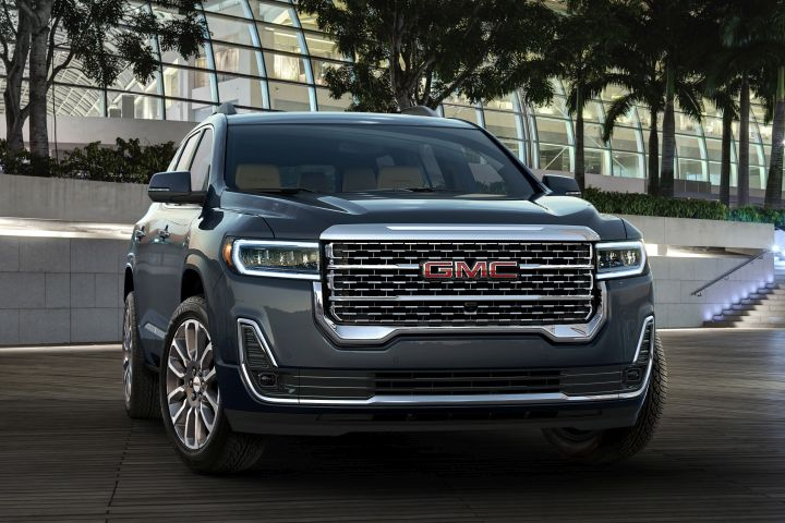 2020 GMC Acadia Adds Third Engine