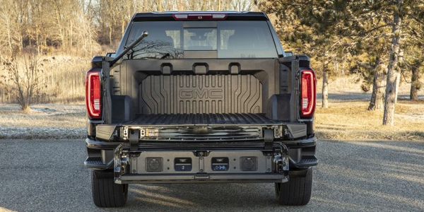 GMC will begin offering a carbon-fiber pickup bed with its 2019 Sierra 1500 on two trim grades.
