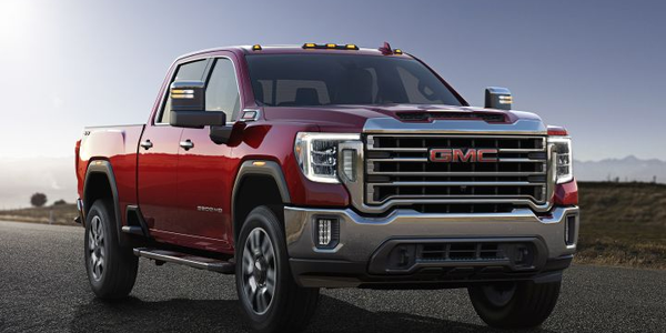 The 2020 GMC Sierra HD adds a more powerful diesel engine that can produce 445 hp and 910...
